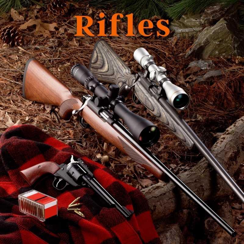 Rifles, Shotguns, Leverguns, Rimfire, And Muzzleloaders