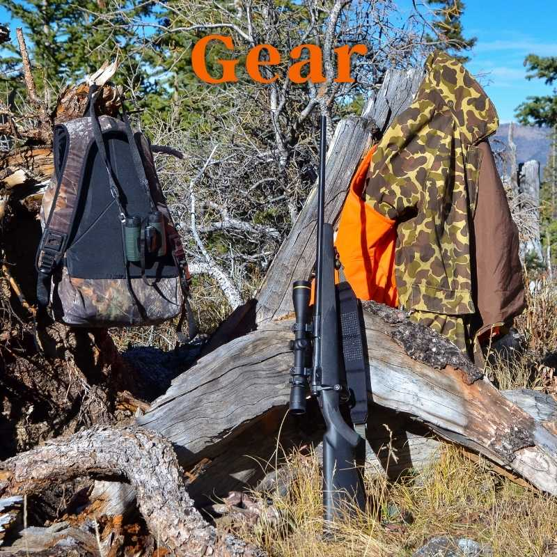 Hunting Gear, Clothing, Packs, Camp Gear, Knives, Tree Stands And Blinds